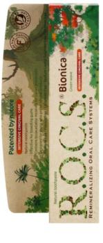 R.O.C.S. Bionica Green Wave pasta de dentes natural para gengivas sensíveis
