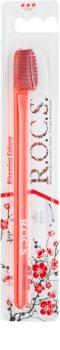 R.O.C.S. Blooming Sakura Professional cepillo de dientes duro