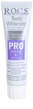 R.O.C.S. PRO Fresh Mint pasta de dentes suave branqueadora
