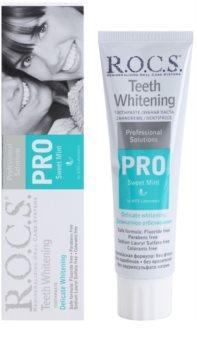 R.O.C.S. PRO Sweet Mint gyengéden fehérítő fogkrém