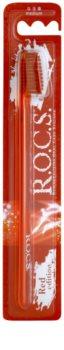 R.O.C.S. Red Edition Zahnbürste Medium
