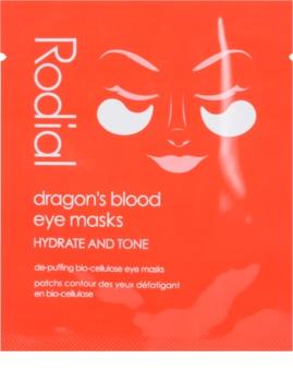 Rodial Dragon's Blood Maske für die Augen gegen Schwellungen und Augenringe