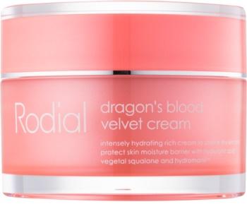 Rodial Dragon's Blood pleťový krém s kyselinou hyaluronóvou pre suchú pleť