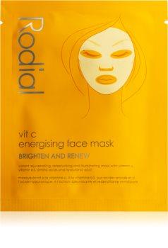Rodial Vit C maschera in tessuto per una pelle illuminata e vitale con vitamina C