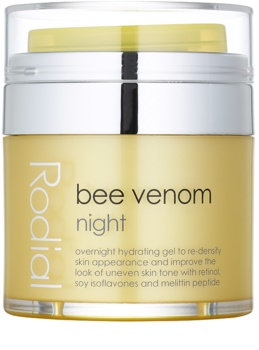 Rodial Bee Venom nočna krema za obraz s čebeljim strupom