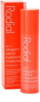 Rodial Dragon's Blood hydratační fluid SPF15