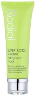 Rodial Super Acids máscara de argila para pele desgastada