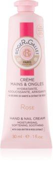 Roger & Gallet Rose крем для рук та нігтів з маслом ши та екстрактом троянди