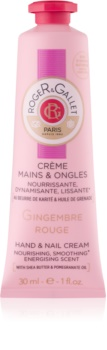 Roger & Gallet Gingembre Rouge Hand & Nail Cream