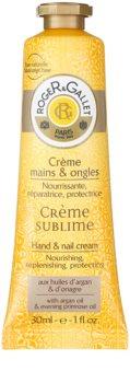 Roger & Gallet Bois d'Orange Sublime Hand & Nail Cream