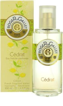 Roger & Gallet Cédrat erfrischendes Wasser für Damen 100 ml