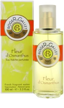 Roger & Gallet Fleur d'Osmanthus água refrescante para mulheres 100 ml