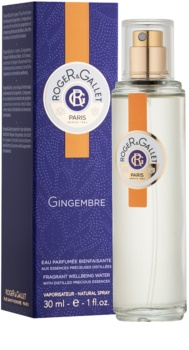 Roger & Gallet Gingembre água refrescante unissexo 30 ml