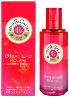 Roger & Gallet Gingembre Rouge água refrescante para mulheres 100 ml