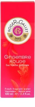 Roger & Gallet Gingembre Rouge eau rafraîchissante pour femme 100 ml