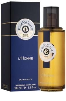 Roger & Gallet Homme Eau de Toilette Für Herren 100 ml