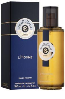 Roger & Gallet Homme toaletní voda pro muže 100 ml