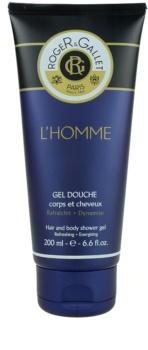 Roger & Gallet Homme gel doccia e shampoo 2 in 1