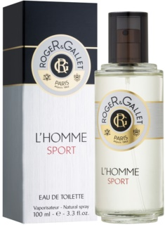 Roger & Gallet L'Homme Sport Eau de Toilette für Herren 100 ml