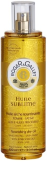 Roger & Gallet Huile Sublime Nourishing Dry Oil For Body And Hair