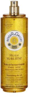 Roger & Gallet Huile Sublime odżywczy suchy olejek do ciała i włosów