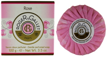Roger & Gallet Rose parfümös szappan dobozban
