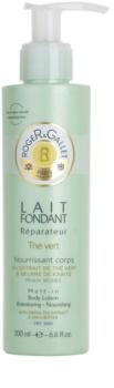 Roger & Gallet Thé Vert поживне молочко для тіла для сухої шкіри
