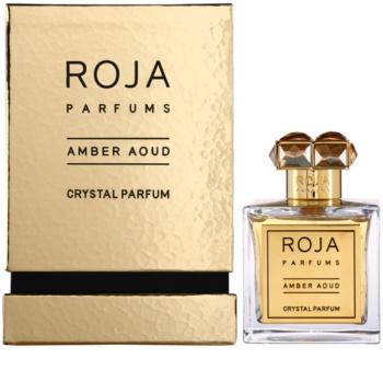 Roja Parfums Amber Aoud Crystal perfumy unisex 100 ml