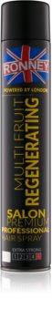 Ronney Multi Fruit Regenerating lak na vlasy so silnou fixáciou