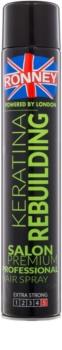 Ronney Keratina Rebuilding Hairspray Strong Firming