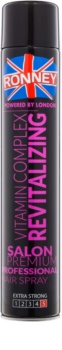Ronney Vitamin Complex Revitalizing regeneracijski lak za lase z ekstra močnim utrjevanjem