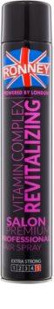 Ronney Vitamin Complex Revitalizing regeneračný lak na vlasy pre extra silnú fixáciu