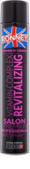 Ronney Vitamin Complex Revitalizing відновлюючий лак для волосся екстра сильної фіксації