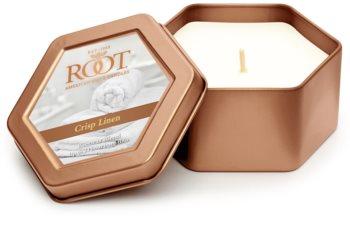 Root Candles Crisp Linen świeczka zapachowa  113 g w puszcze
