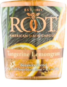 Root Candles Tangerine Lemongrass Votive Candle 60 g