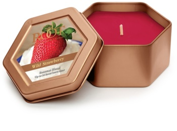 Root Candles Wild Strawberry illatos gyertya  113 g alumínium dobozban