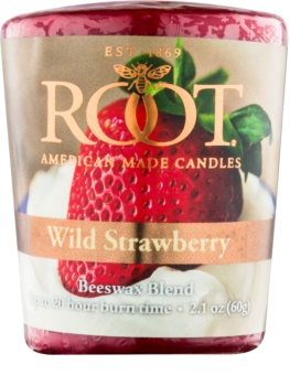 Root Candles Wild Strawberry Votive Candle 60 g