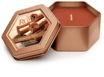 Root Candles Cinnamon Spice bougie parfumée 113 g en métal