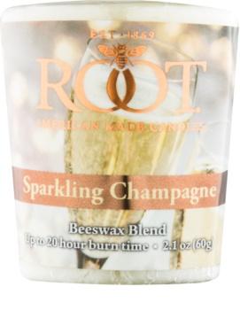 Root Candles Sparkling Champagne votivní svíčka 60 g