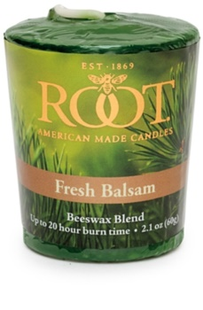 Root Candles Fresh Balsam sampler
