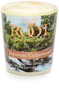 Root Candles Japanese Cedarwood Votive Candle 60 g