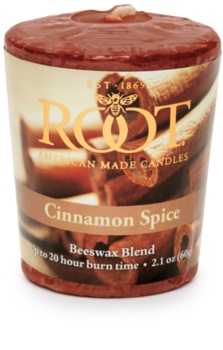 Root Candles Cinnamon Spice Votive Candle 60 g