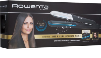 Rowenta Beauty Liss & Curl Ultimate Shine SF6220D0 žehlička na vlasy