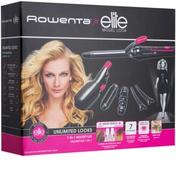Rowenta Elite Model Look Unlimited Looks CF4112F0 wielofunkcyjna lokówka do włosów do włosów