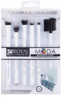 Royal and Langnickel Moda Beautiful Eyes набір щіточок для макіяжу