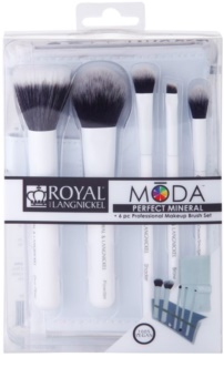 Royal and Langnickel Moda Perfect Mineral набір щіточок для макіяжу
