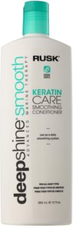 Rusk Deep Shine Smooth uhlazující a vyživující kondicionér pro snadné rozčesání vlasů