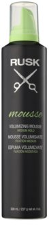 Rusk Styling mousse para volume e forma