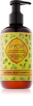 RYOR Wellness and Spa Beer Cosmetics pivné tekuté mydlo