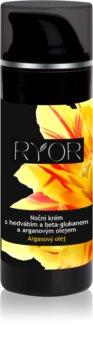 RYOR Argan Oil Night Cream with Silk and Beta Glucan